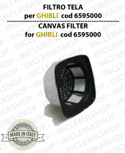 Canvas Filter cod: 6595000 for vacuum cleaner GHIBLI wirbel synclean