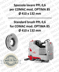 OPTIMA 85 Strandard Wash Brush PPL 0,6 for Scrubber Dryer COMAC