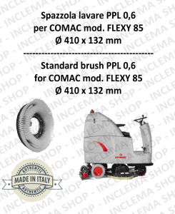 FLEXY 85 Strandard Wash Brush PPL 0,6 for Scrubber Dryer COMAC