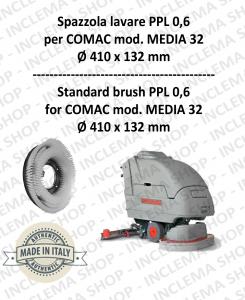 MEDIA 32 Standard Bürsten PPL 0,6 für Scheuersaugmaschinen COMAC