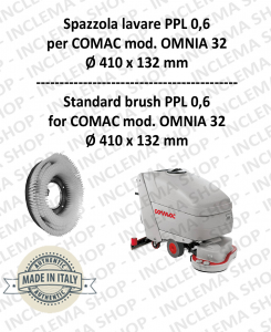 OMNIA 32 Strandard Wash Brush PPL 0,6 for Scrubber Dryer COMAC