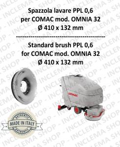 OMNIA 32 Standard Bürsten PPL 0,6 für Scheuersaugmaschinen COMAC