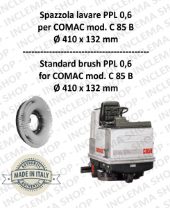 C 85 B Strandard Wash Brush PPL 0,6 for Scrubber Dryer COMAC