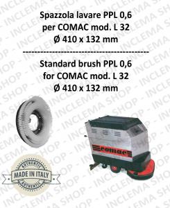 L 32 Standard Bürsten PPL 0,6 für Scheuersaugmaschinen COMAC