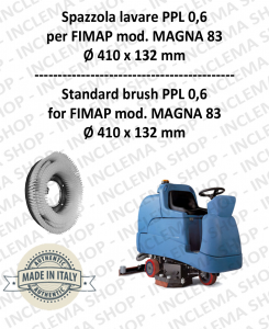 MAGNA 83 Strandard Wash Brush PPL 0,6 for Scrubber Dryer FIMAP