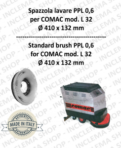 L 32 Strandard Wash Brush PPL 0,6 for Scrubber Dryer COMAC