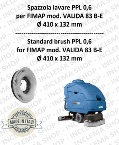 VALIDA 83 B- E Strandard Wash Brush PPL 0,6 for Scrubber Dryer FIMAP