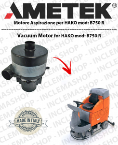 B 750 R Saugmotor AMETEK ITALIA für Scheuersaugmaschinen HAKO