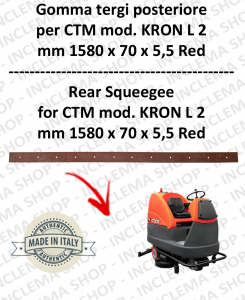 KRON L 2 Bavette autolaveuses arrière pour CTM
