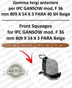 F 36 Vorne sauglippen für Scheuersaugmaschinen IPC GANSOW