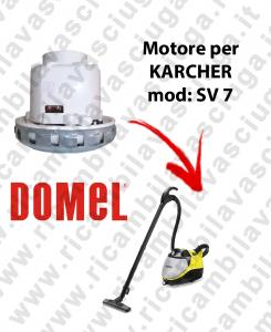 SV 7 moteur aspiration  DOMEL pour pulitore a vapore con aspirazione