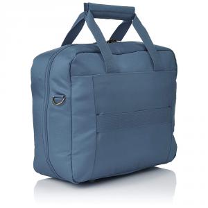 Delsey - Ulite Classic - Reporter compatibile con sistema trolley blu acciaio cod. 3245190