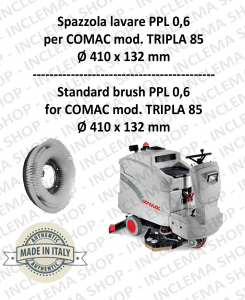 TRIPLA 85 Strandard Wash Brush PPL 0,6 for Scrubber Dryer COMAC