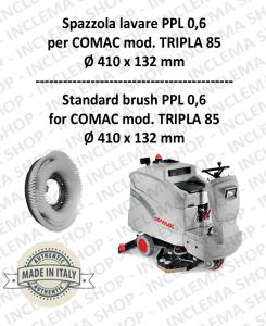 TRIPLA 85 Standard Bürsten PPL 0,6 für Scheuersaugmaschinen COMAC