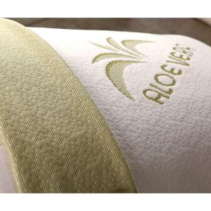 Cuscino Lattice Cervicale con tessuto Aloe Vera