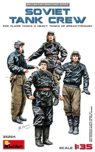 SOVIET TANK CREW (for Flame Tanks & Heavy Tanks of Breakthrough)