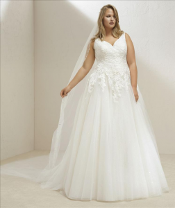 Abito sposa mod. MARY linea PRONOVIAS PLUS