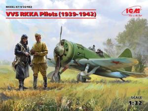 VVS RKKA Pilots (1939-1942?.) (3 figures)