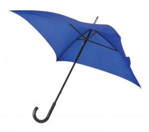 Ombrello quadrato blu Manuale cm.80x80x87h