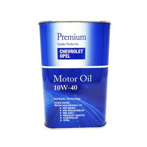OLIO MOTORE PREMIUM QUALITY CHEVROLET OPEL 10W40 ACEA A3/B4 - 4036021548210