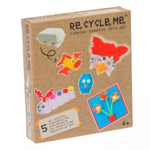 Contenitori uova Set Gioco Ecologico per Bambina Re-Cycle-Me