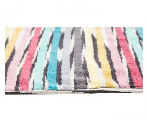 Missoni home jeff tappeto bagno cm righe multicolori
