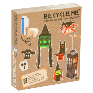Halloween Set Gioco Ecologico per Bambini Re-Cycle-Me