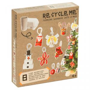 Decorazioni per Natale Set Gioco Ecologico per Bambini Re-Cycle-Me