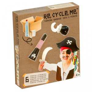 Costume da pirata Set Gioco Ecologico per Bambino Re-Cycle-Me