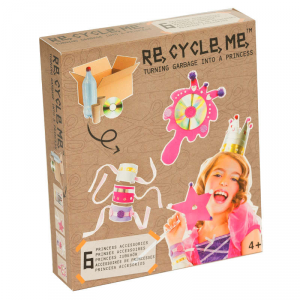 Costume da princessa Set Gioco Ecologico per Bambina Re-Cycle-Me