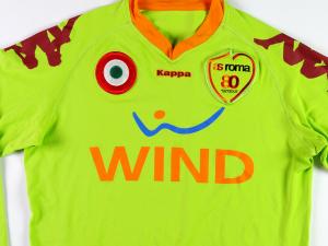 2007-08 As Roma Maglia Portiere L (Top)