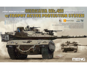 Israel Main Battle Tank Merkava Mk.4M w/Trophy Active Protection System
