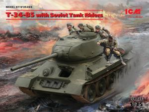 T-34-85 with Soviet Tank Riders