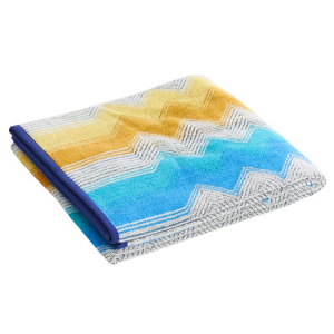 Set Asciugamani Missoni 1 asciugamano + 1 ospite SELMA 170 multicolore