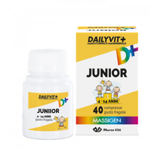 DailyVit Junior 40 cpr masticabili fragola
