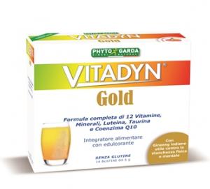 VITADYN GOLD INTEGRATORE A BASE DI 12 VITAMINE, MINERALI E MOLTO ALTRO