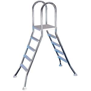 Scaletta di risalita in acciaio inox 3 GRADINI