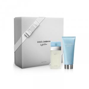 Dolce & Gabbana Light Blue Eau De Toilette Spray 25ml Set 2 Parti 2018