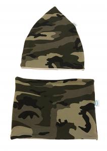 Militare cappello e paracollo