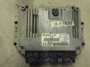 ECU CENTRALINA MOTORE Peugeot 206 1.4Hdi Engine  0 281 010 707 , 96 465 599 80, 0281010707