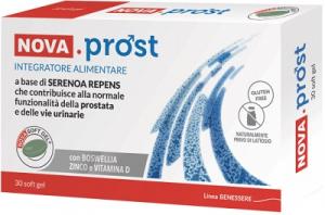 NovaProst 30 cps softgel integratore alimentare