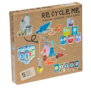 Costruisci i tuoi giochi Set Gioco Ecologico per Bambina Re-Cycle-Me