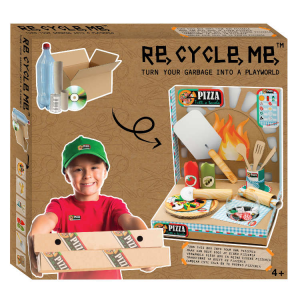 Playworld Pizzeria Set Gioco Ecologico per Bambina Re-Cycle-Me