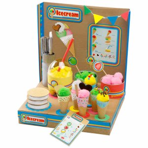Playworld Gelateria Set Gioco Ecologico per Bambina Re-Cycle-Me