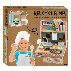 Playworld Cucina Set Gioco Ecologico per Bambina Re-Cycle-Me
