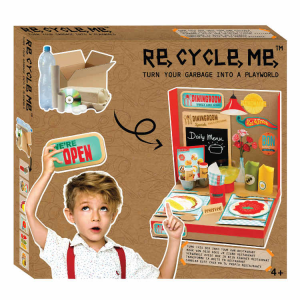 Playworld Ristorante Set Gioco Ecologico per Bambina Re-Cycle-Me
