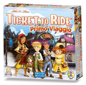 ASMODEE 8516 TICKET TO RIDE PRIMO VIAGGIO