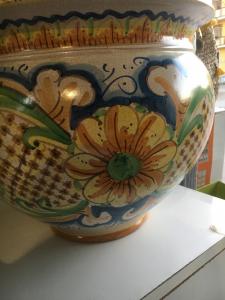 Vaso ceramica di Caltagirone