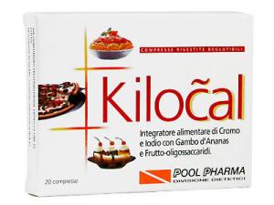 Kilocal 20cpr Integratore alimentare