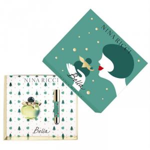 Nina Ricci Bella Eau De Toilette Spray 80ml Set 2 Parti 2018